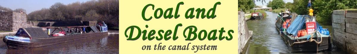 Coal and Diesel Boats on the Canal System